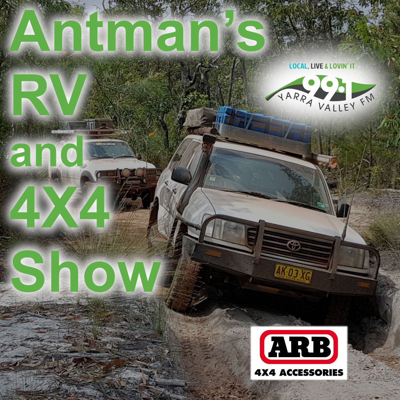 Cover Art for Antman's RV and 4X4 Show